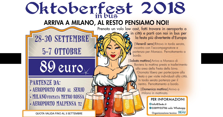 Oktoberfest 2018 _ Festa della Birra 2018